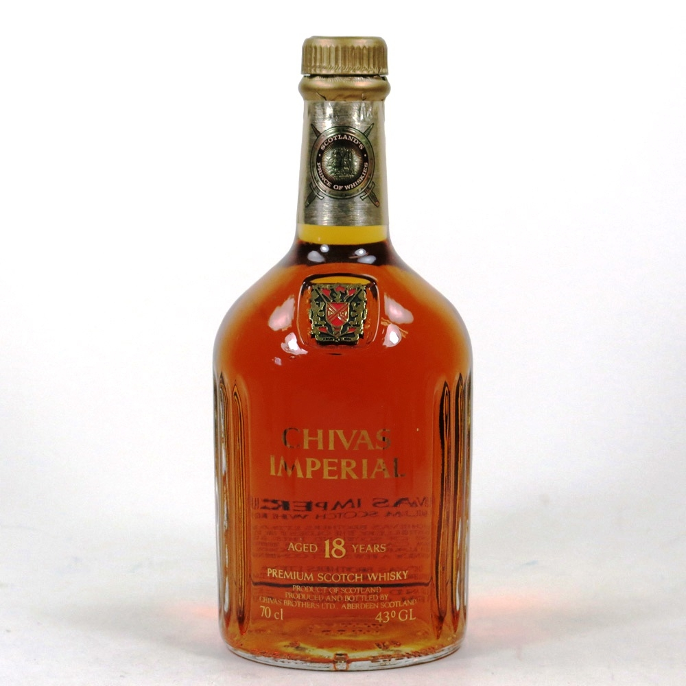 Chivas Imperial 18 Year Old / Seal Damage