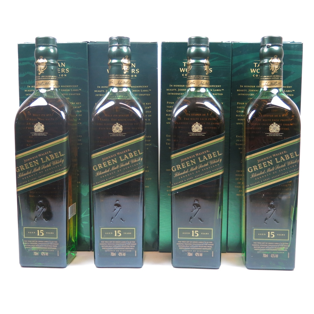 Johnnie Walker Green Label Taiwan Wonders Collection / Including Sweater Back