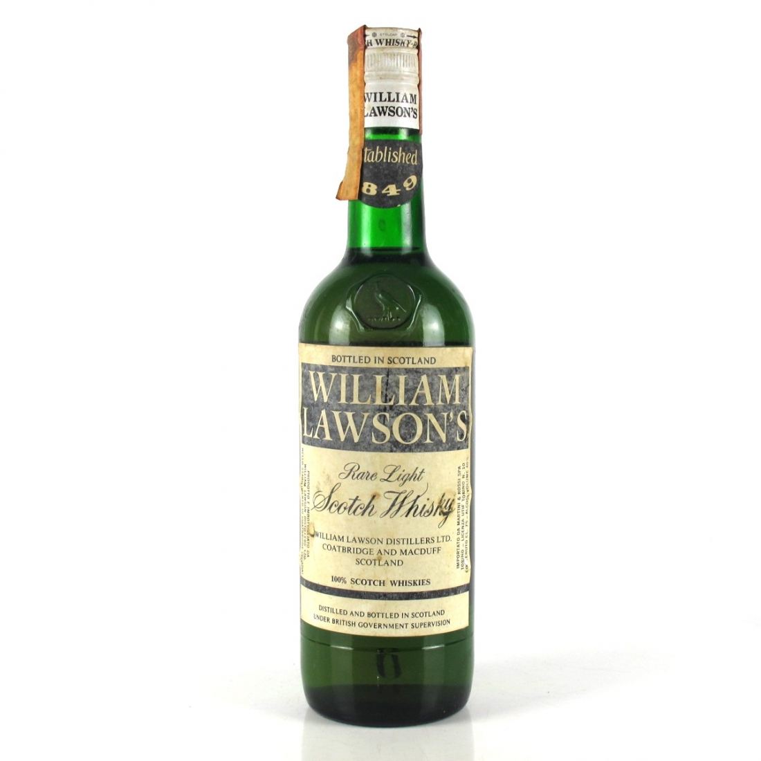 William Lawson's Finest Blended Whisky 1970s