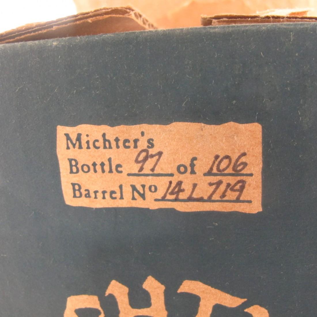 Michter's 25 Year Old Single Barrel Straight Rye