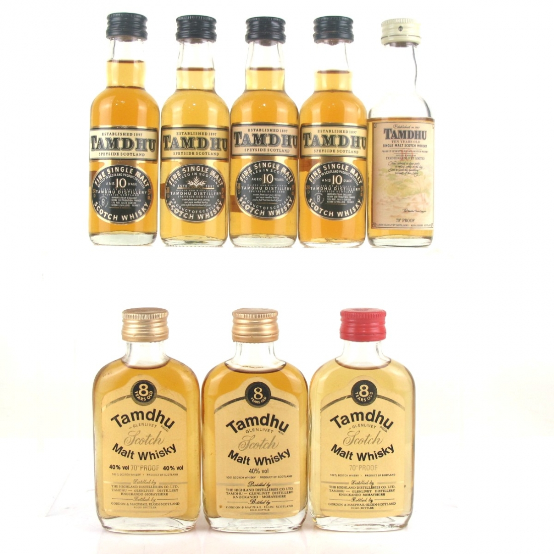 Tamdhu Miniature Collection 8 x 5cl
