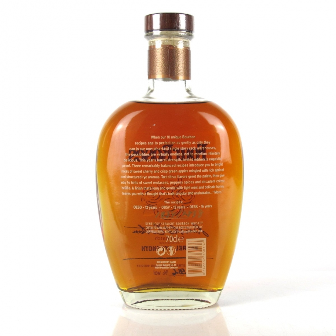 Four Roses Small Batch Limite Edition 2016 Release
