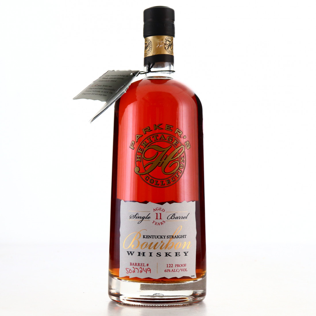 Parker's Heritage Collection 11 Year Old Single Barrel Bourbon