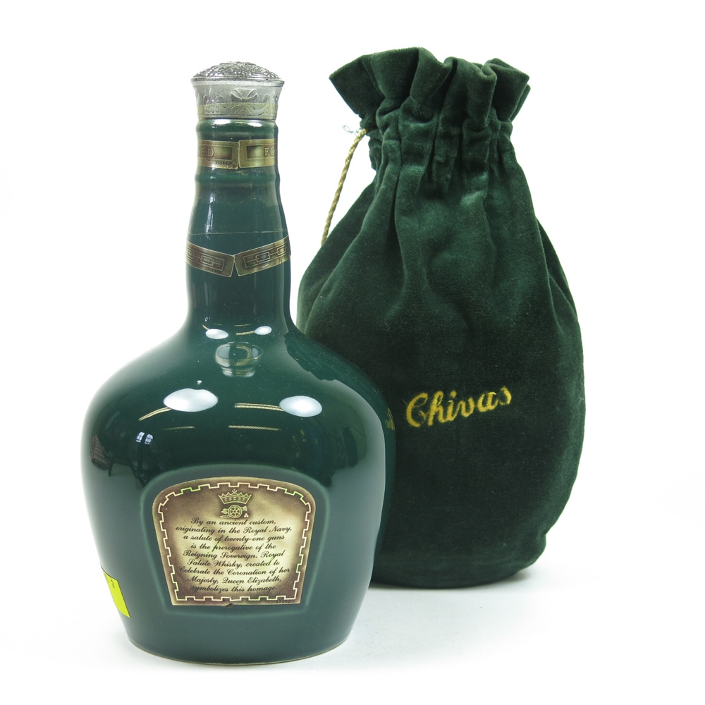 Chivas Regal 21 Year Old Royal Salute 1970s