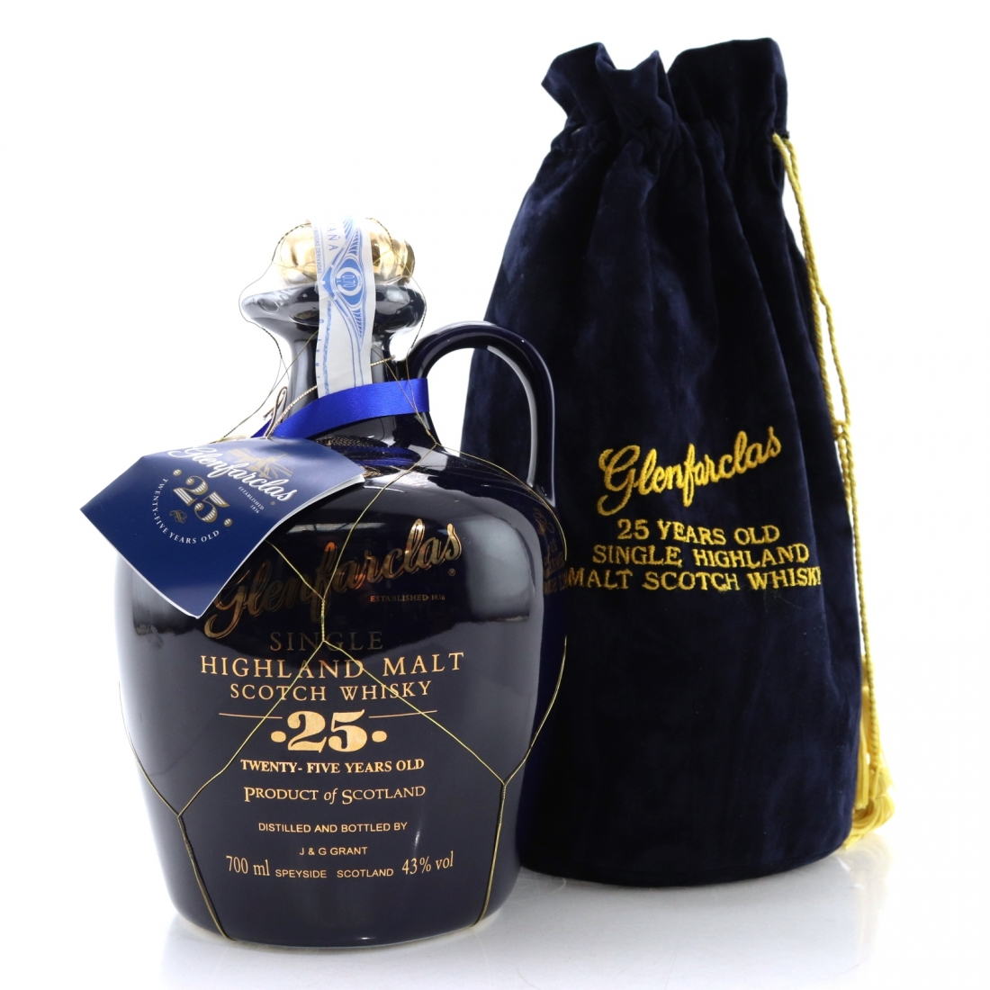 Glenfarclas 25 Year Old Decanter 1990s