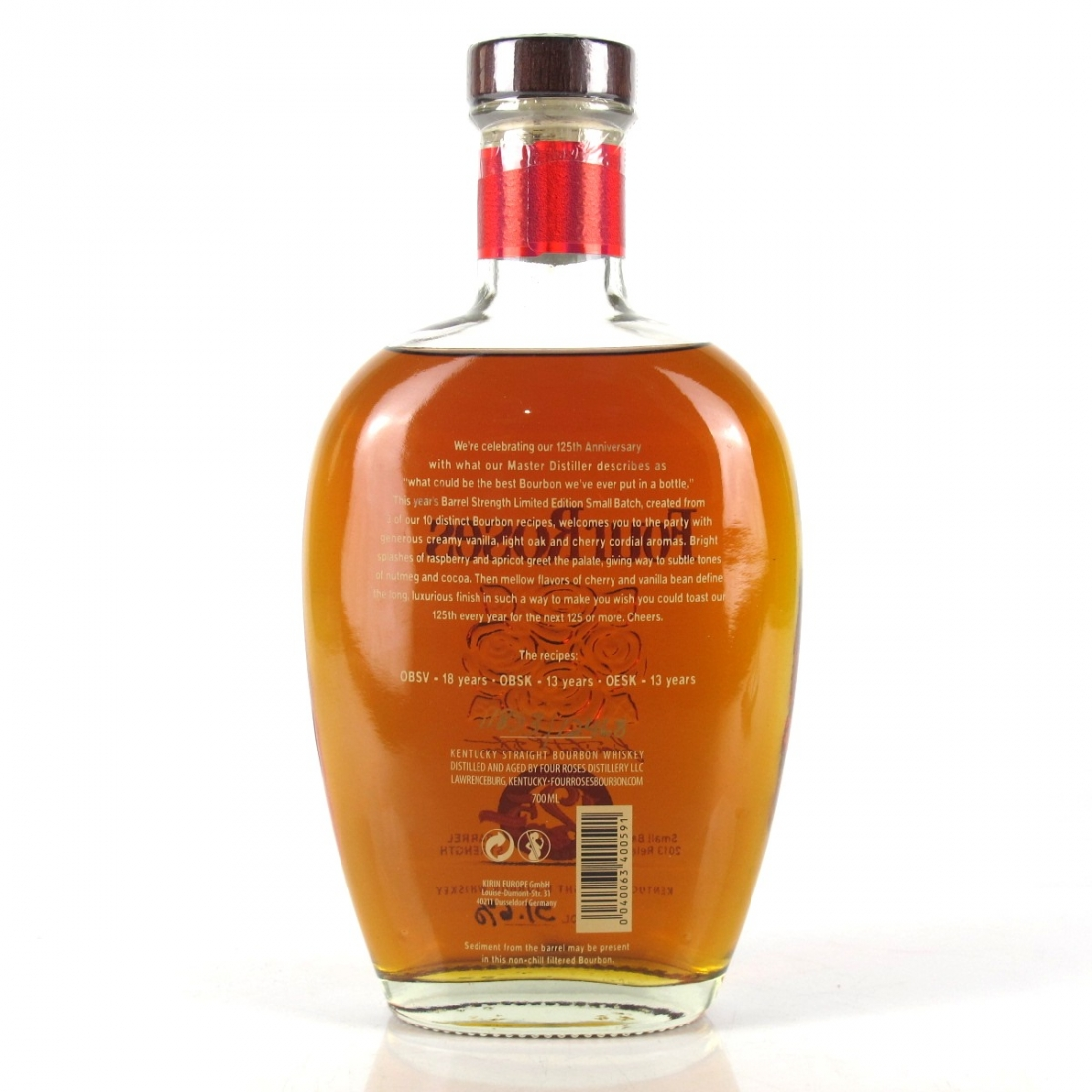 Four Roses Small Batch Limited Edition 2013 Release / 125th Anniversary