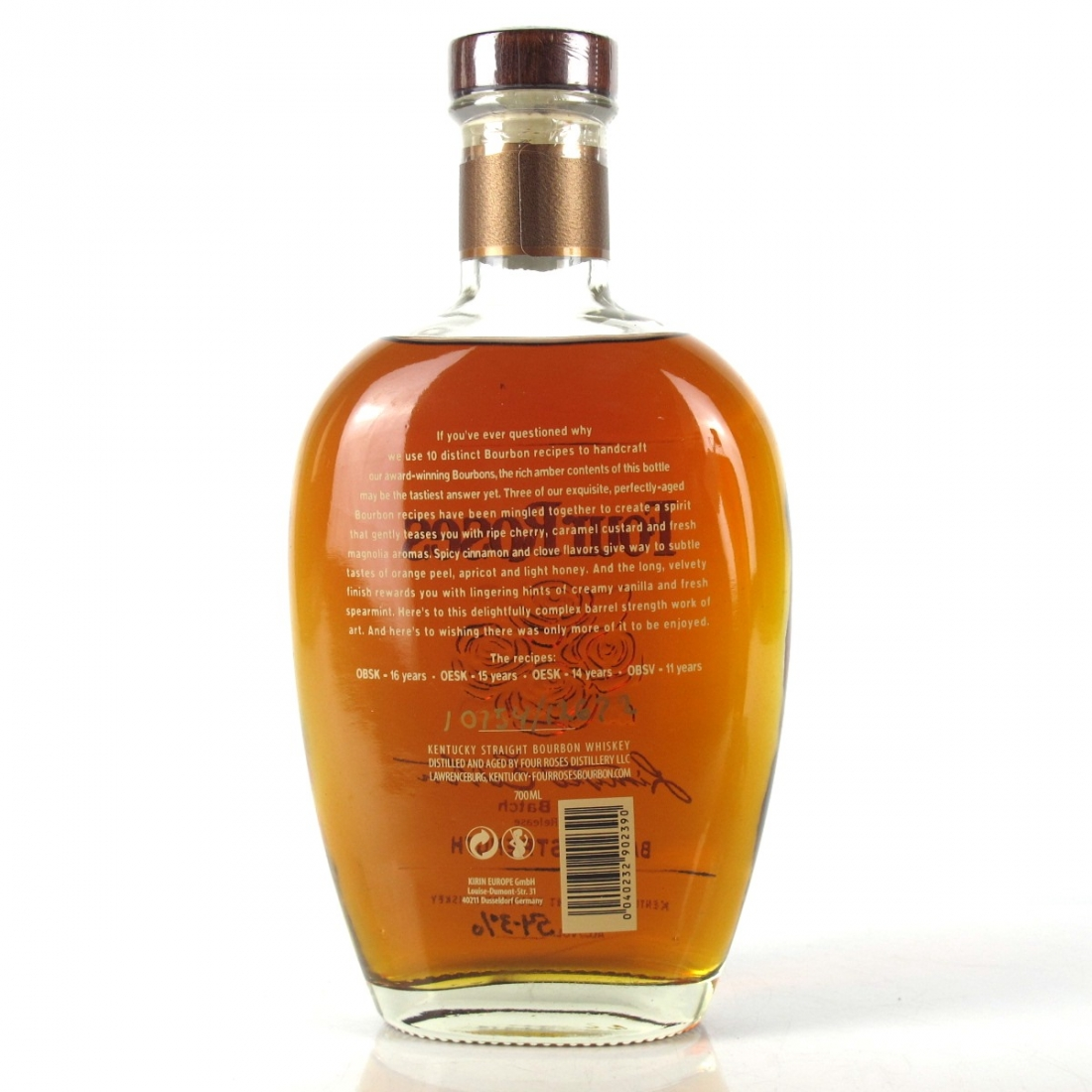 Four Roses Small Batch Limited Edition 2015 Release