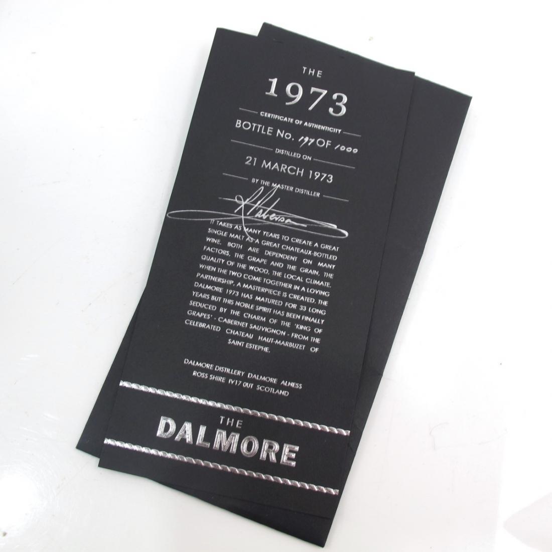 Dalmore 1973 Cabernet Sauvignon / Haut Marbuzet Finish