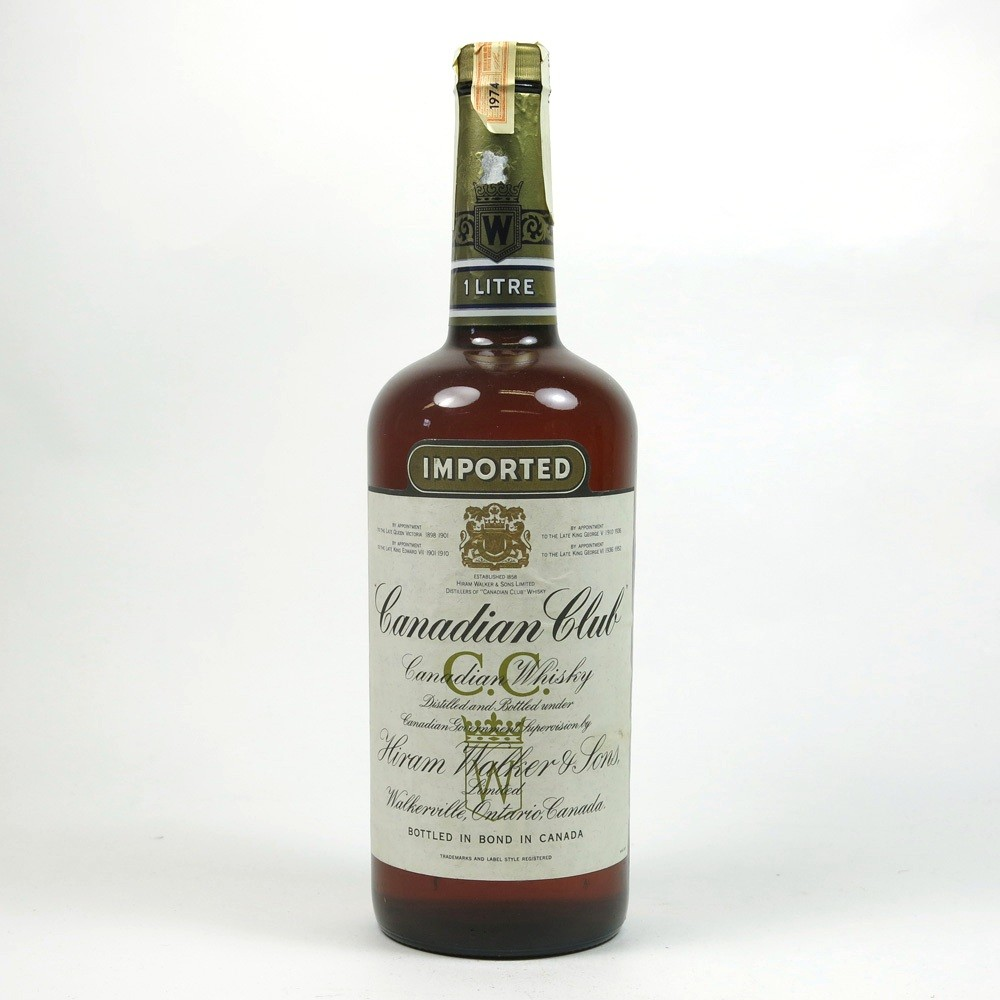Canadian Club 1974 Front