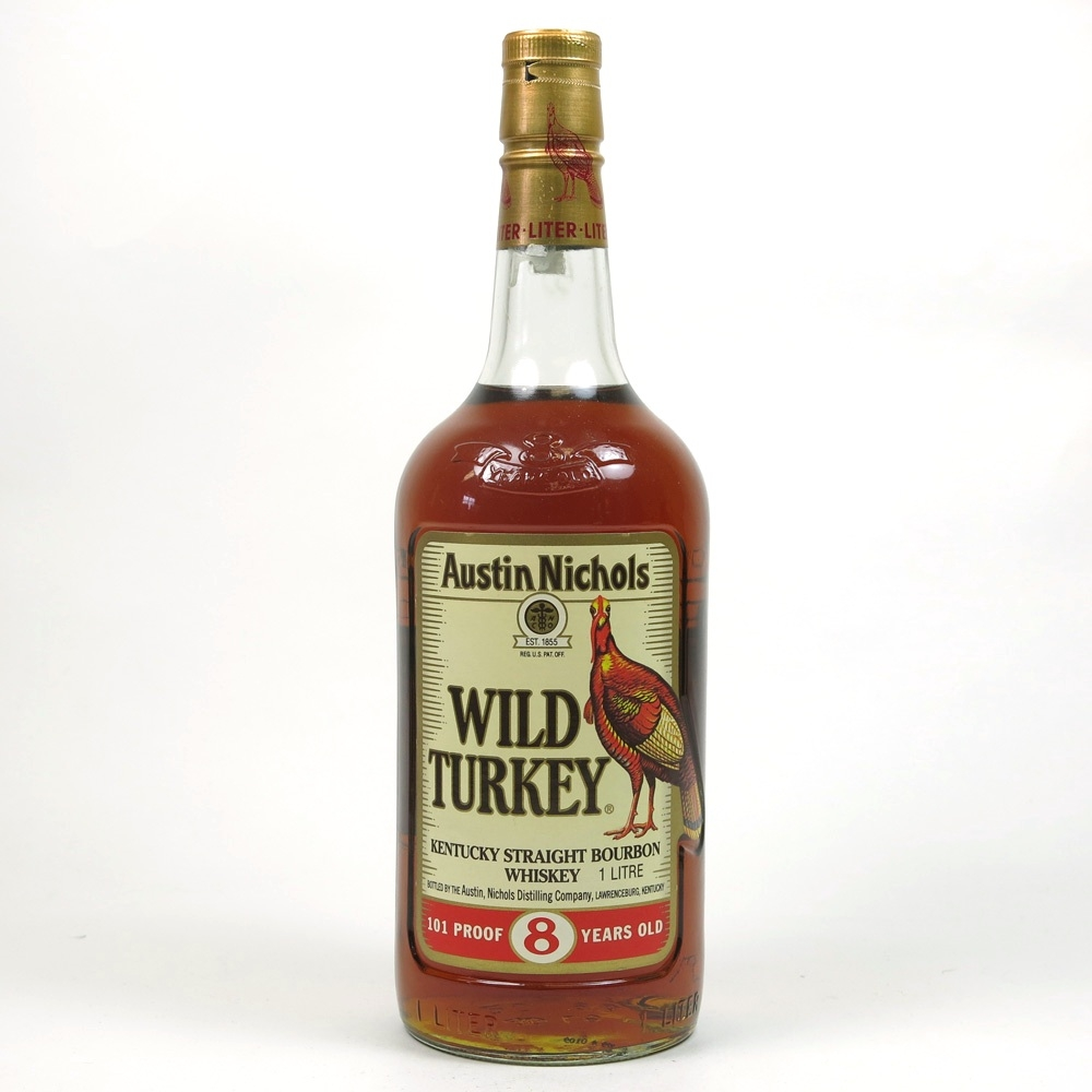 Wild Turkey 8 Year Old 101 Proof 1 Litre Front