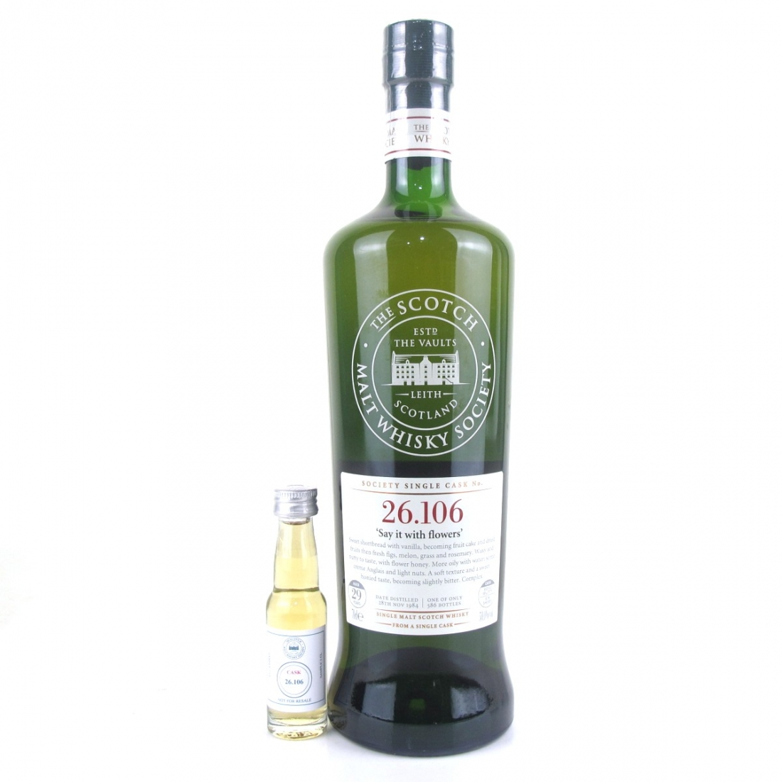 Clynelish 1984 SMWS 29 Year Old 26.106 / includes 2cl Sample
