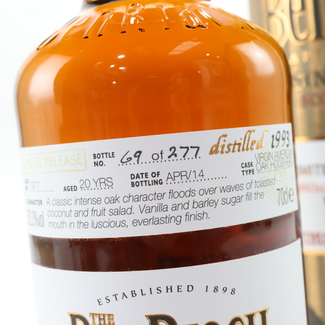 Benriach 1993 Single Cask 20 Year Old #7977 / The Whisky Agency