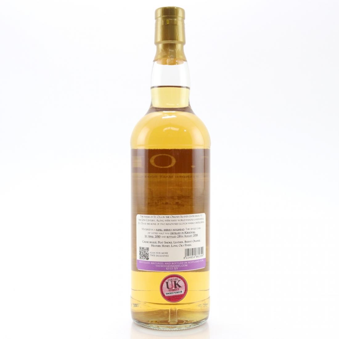 St Ola 2010 Orcadian Blended Malt 8 Year Old / The Whisky Barrel