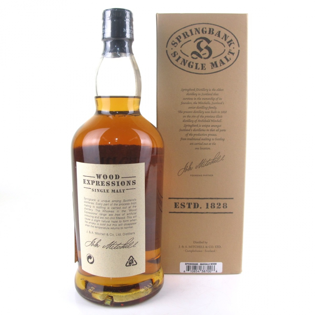 Springbank 1996 Marsala Wood 9 Year Old