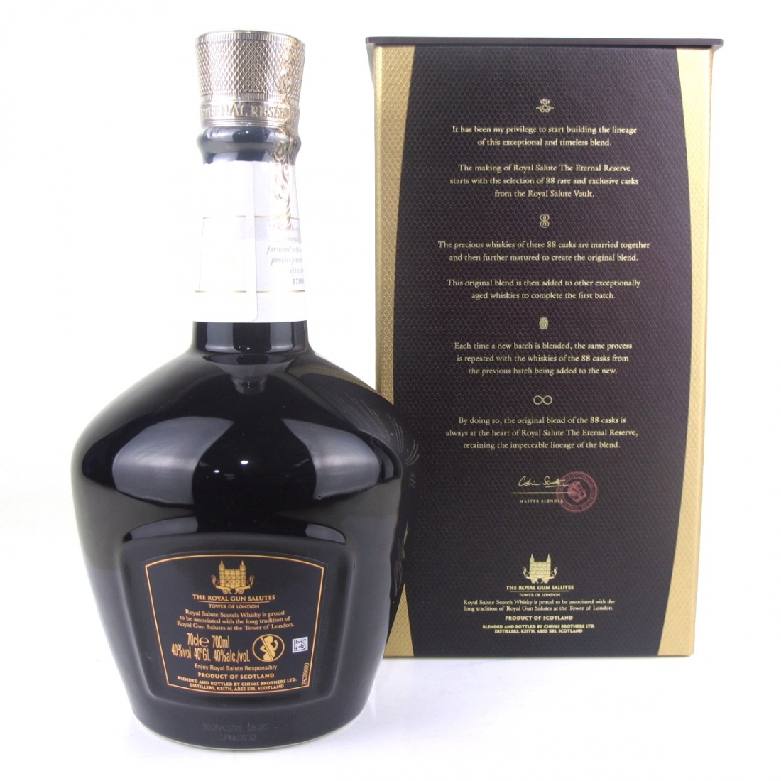 Chivas 21 Year Old Royal Salute / The Eternal Reserve