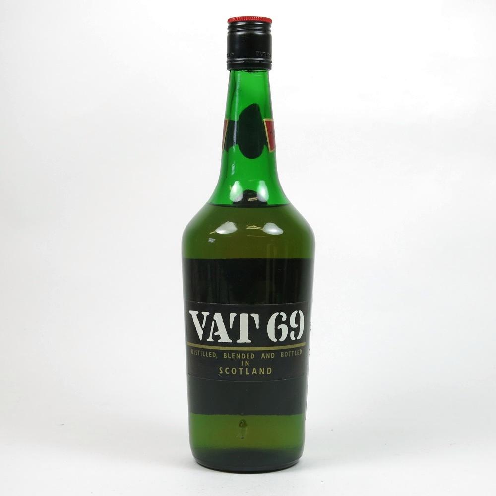Vat 69 1970s Back