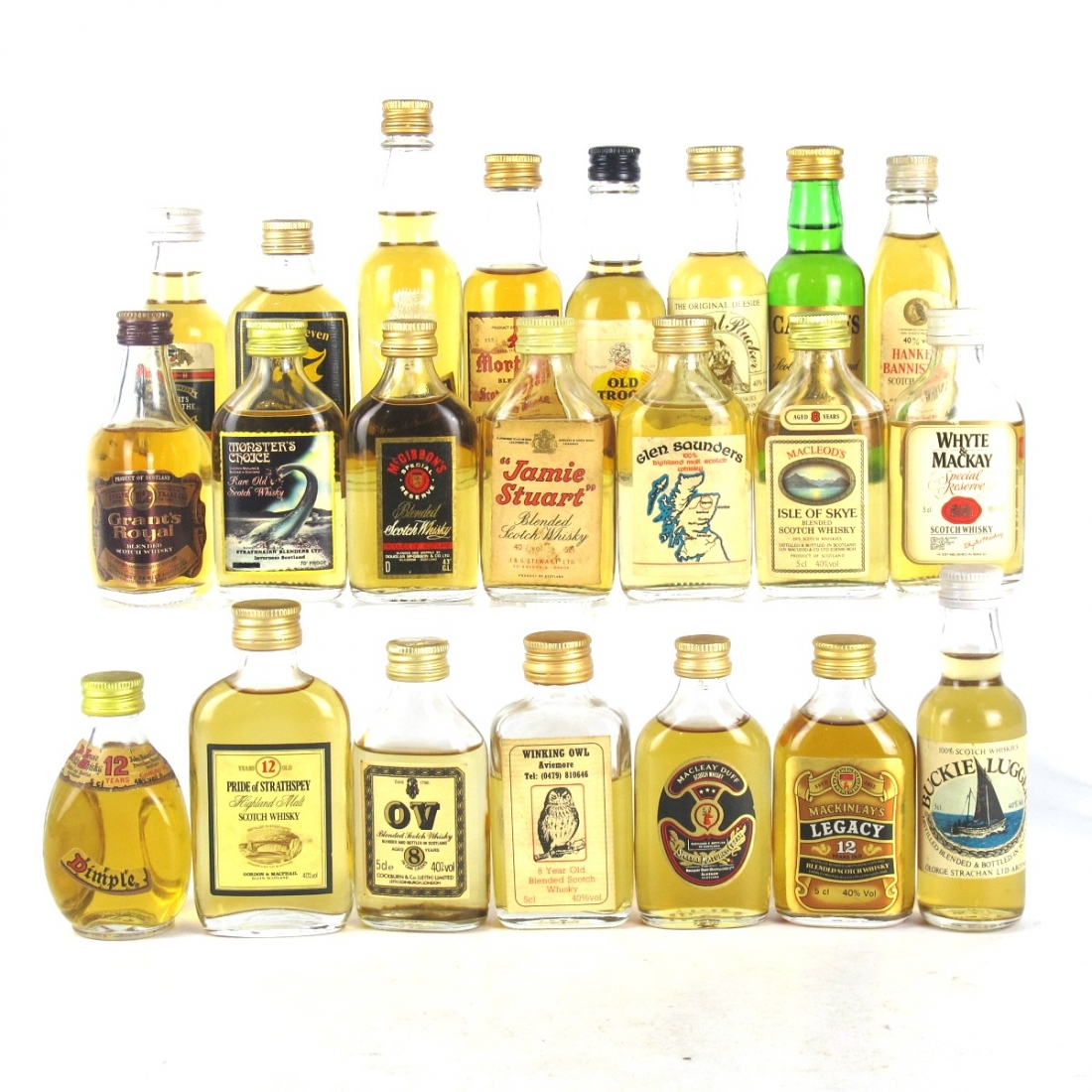 Miscellaneous Blended Miniature Selection x 22