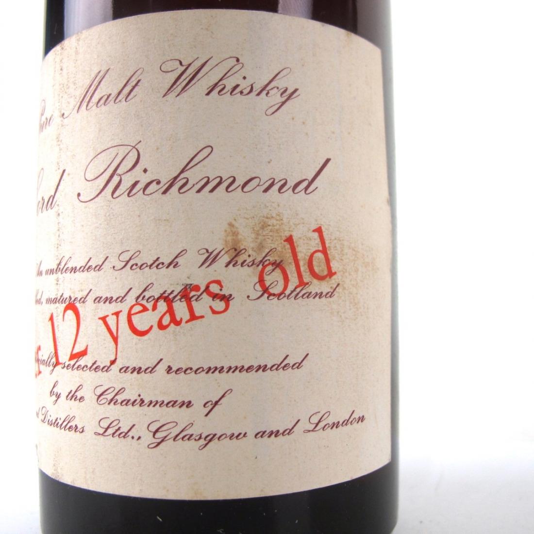 Lord Richmond 12 Year Old Pure Malt 1960s