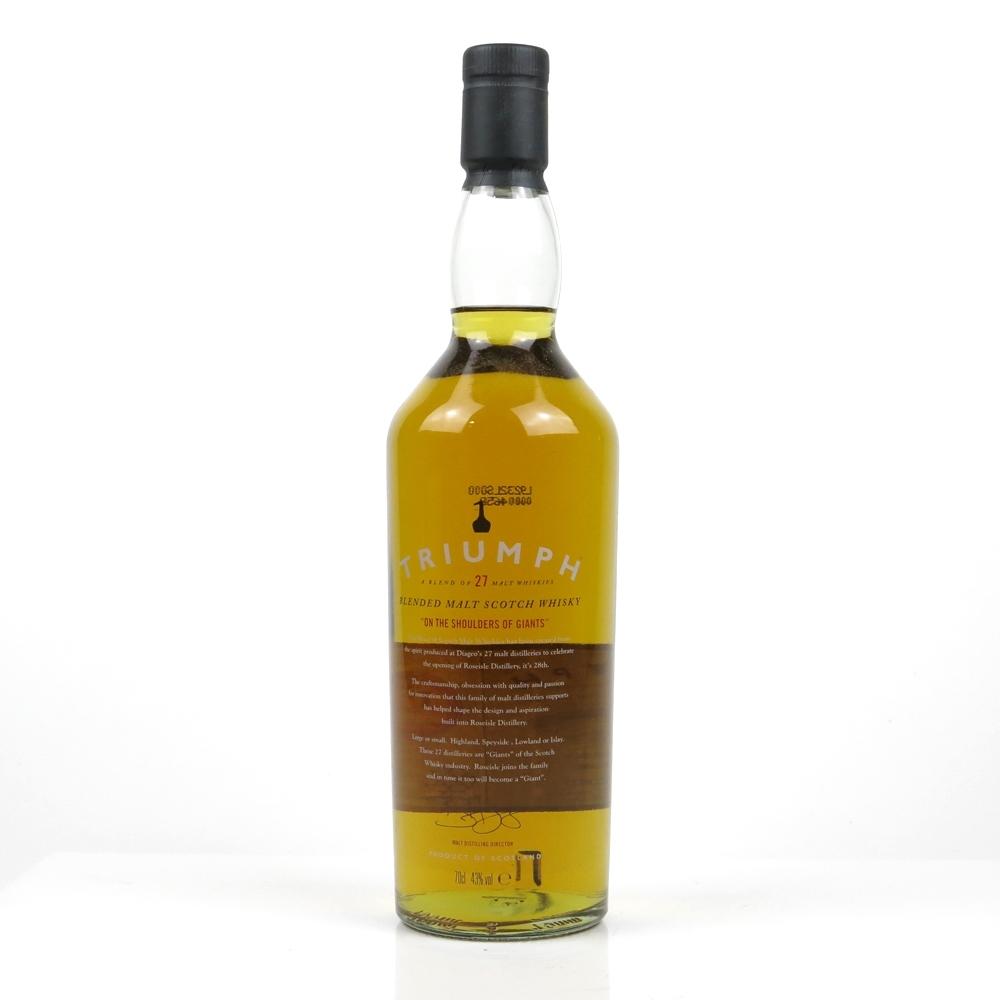 Triumph Blended Malt / Diageo's 27 Malt Distilleries