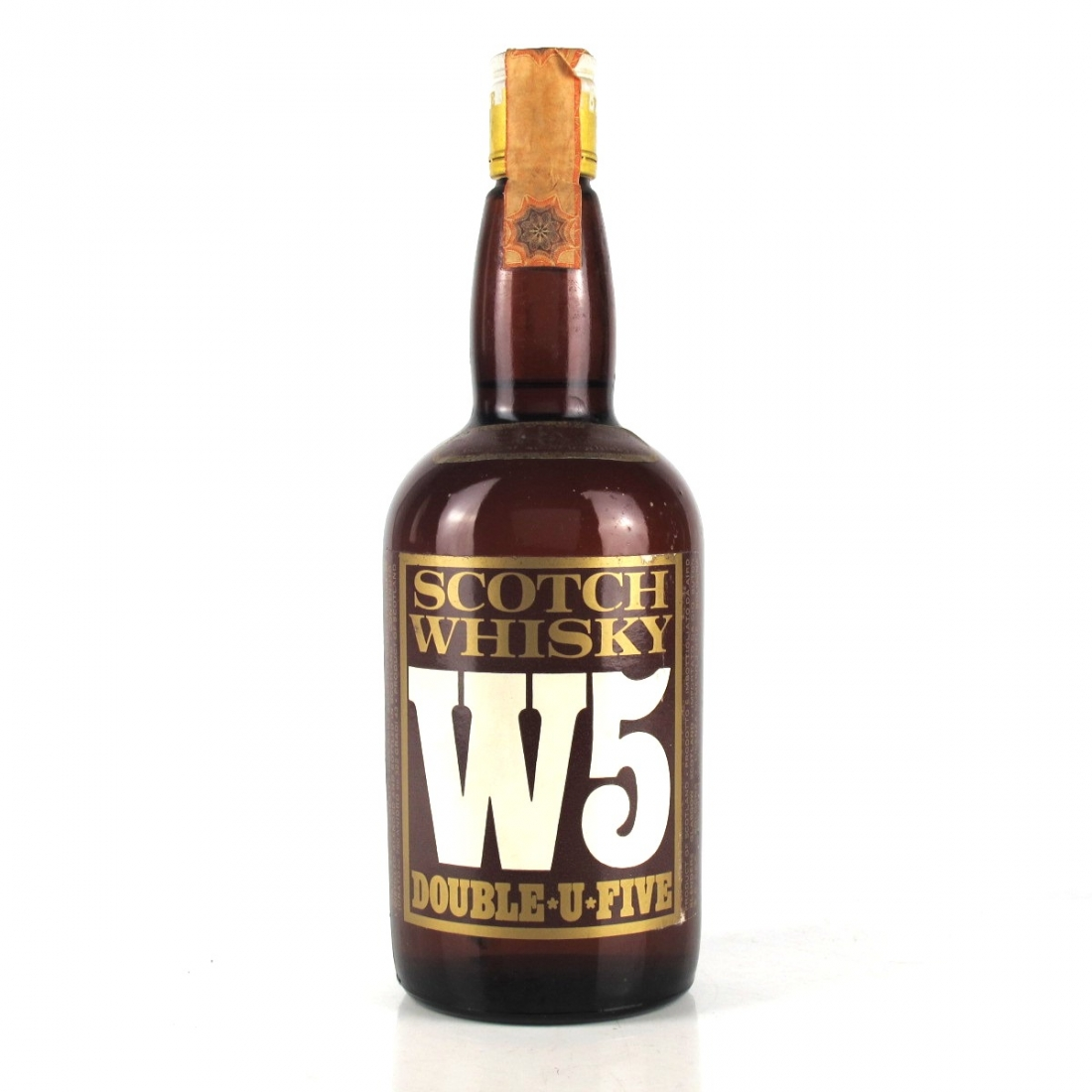 W5 Double U Five Scotch Whisky Circa 1960s