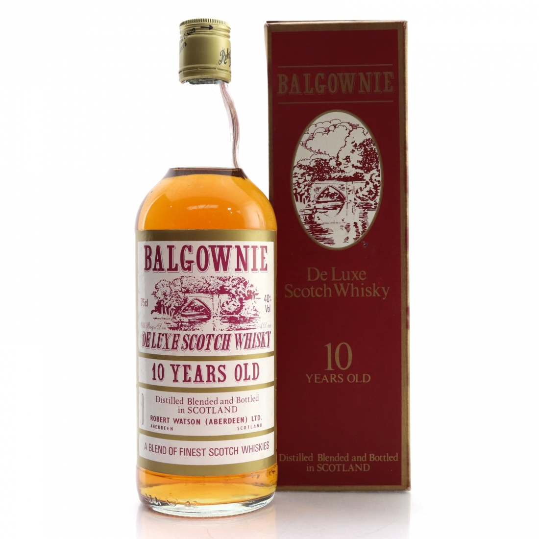 Balgownie De Luxe 12 Year Old 1980s