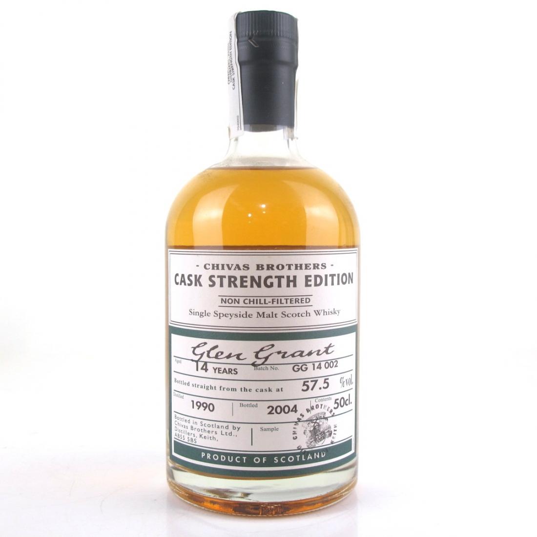 Glen Grant 1990 Cask Strength 14 Year Old / Distillery Exclusive