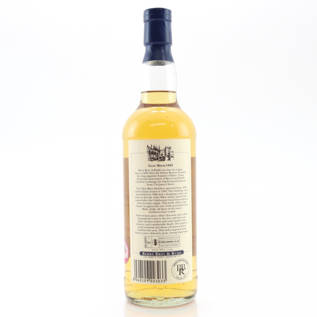 Glen Mhor 1982 Berry Brothers