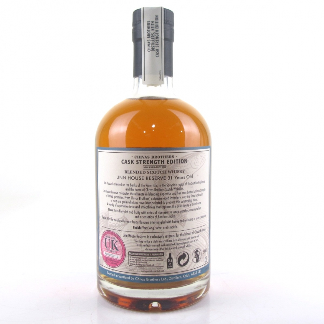 Linn House Reserve Cask Strength 31 Year Old / Distillery Exclusive