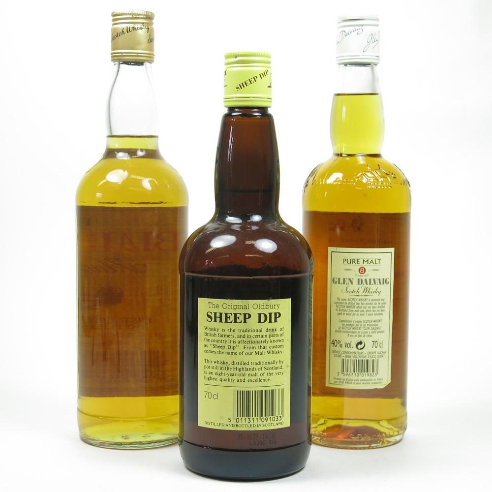Miscellaneous Blended Malt Selection 3 x 70cl