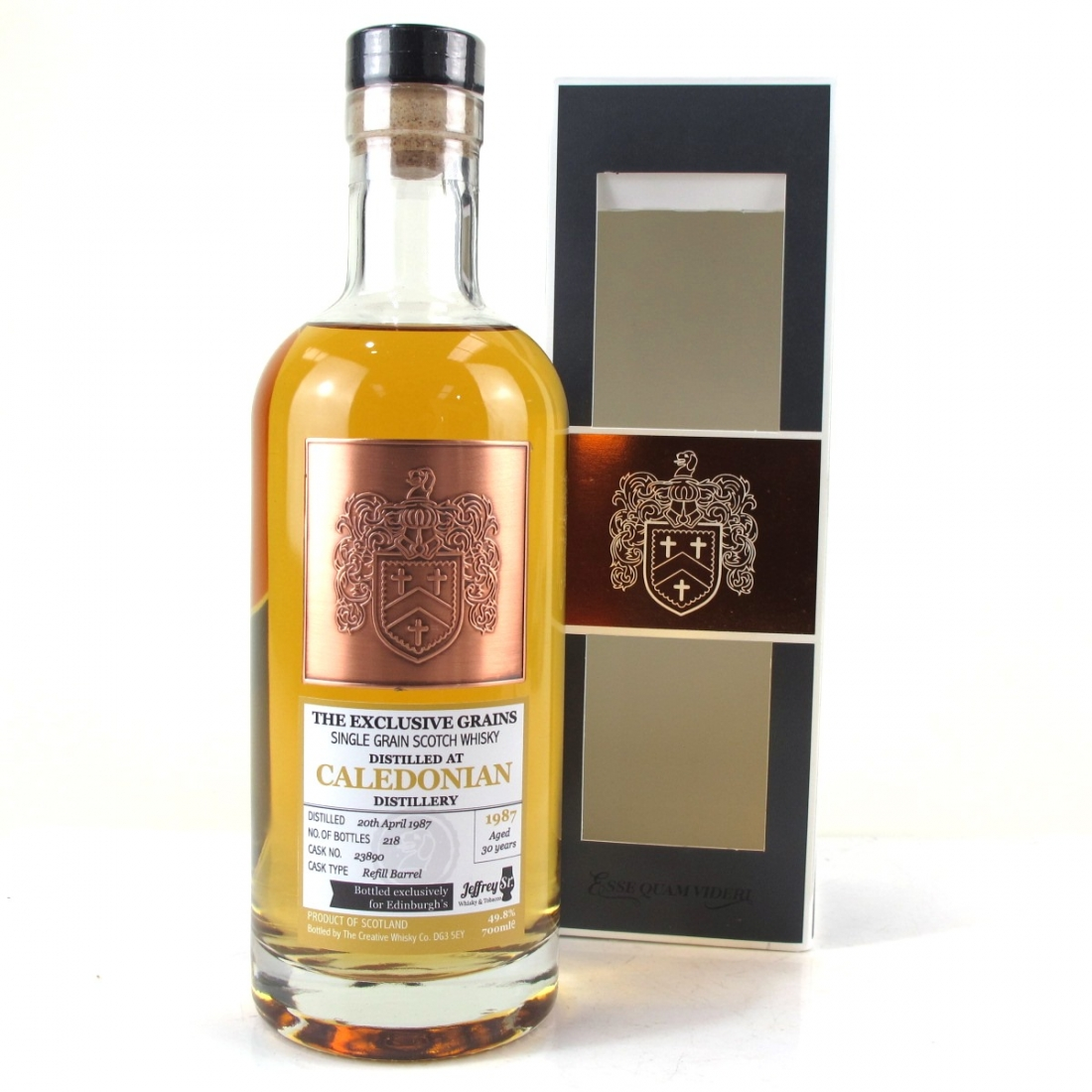 Caledonian 1987 Creative Whisky 30 Year Old
