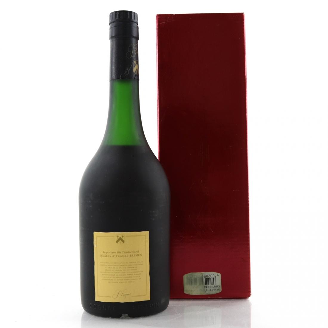 Frapin VSOP Grande Fine Champagne Cognac 1980s
