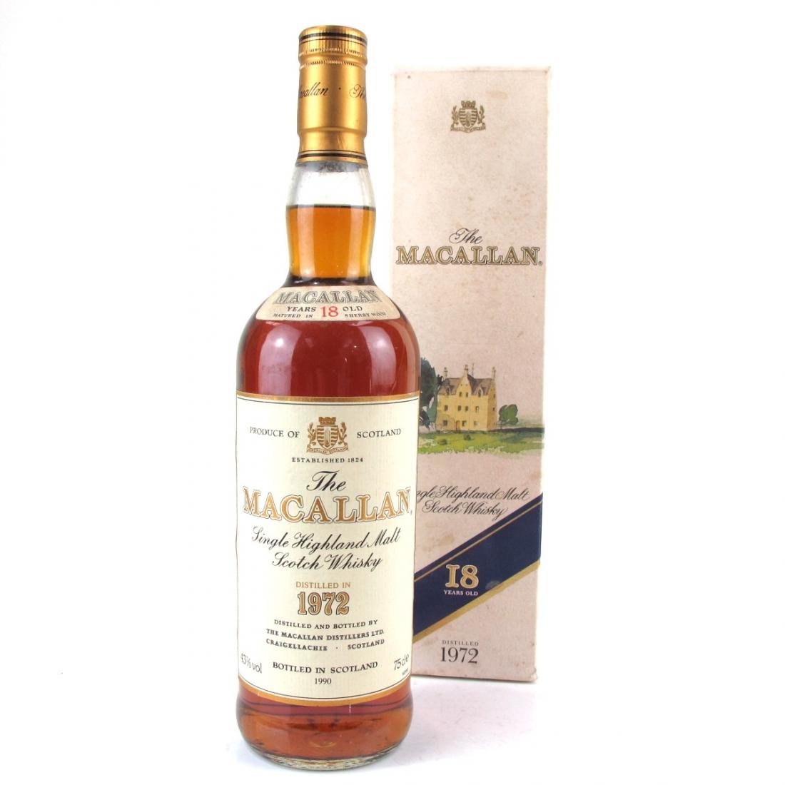 Macallan 18 Year Old 1972