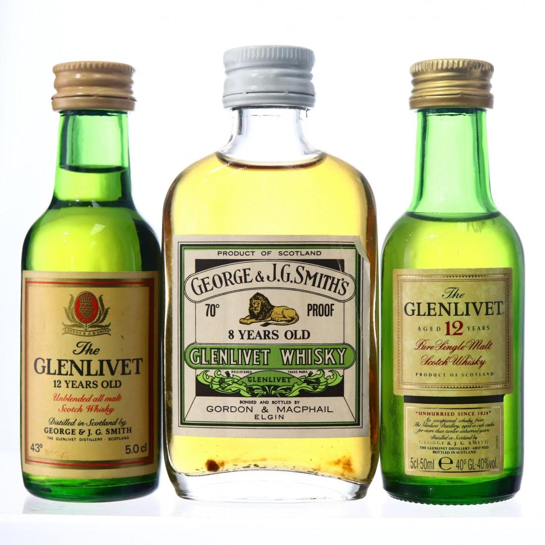 Glenlivet Miniature Collection 3 x 5cl