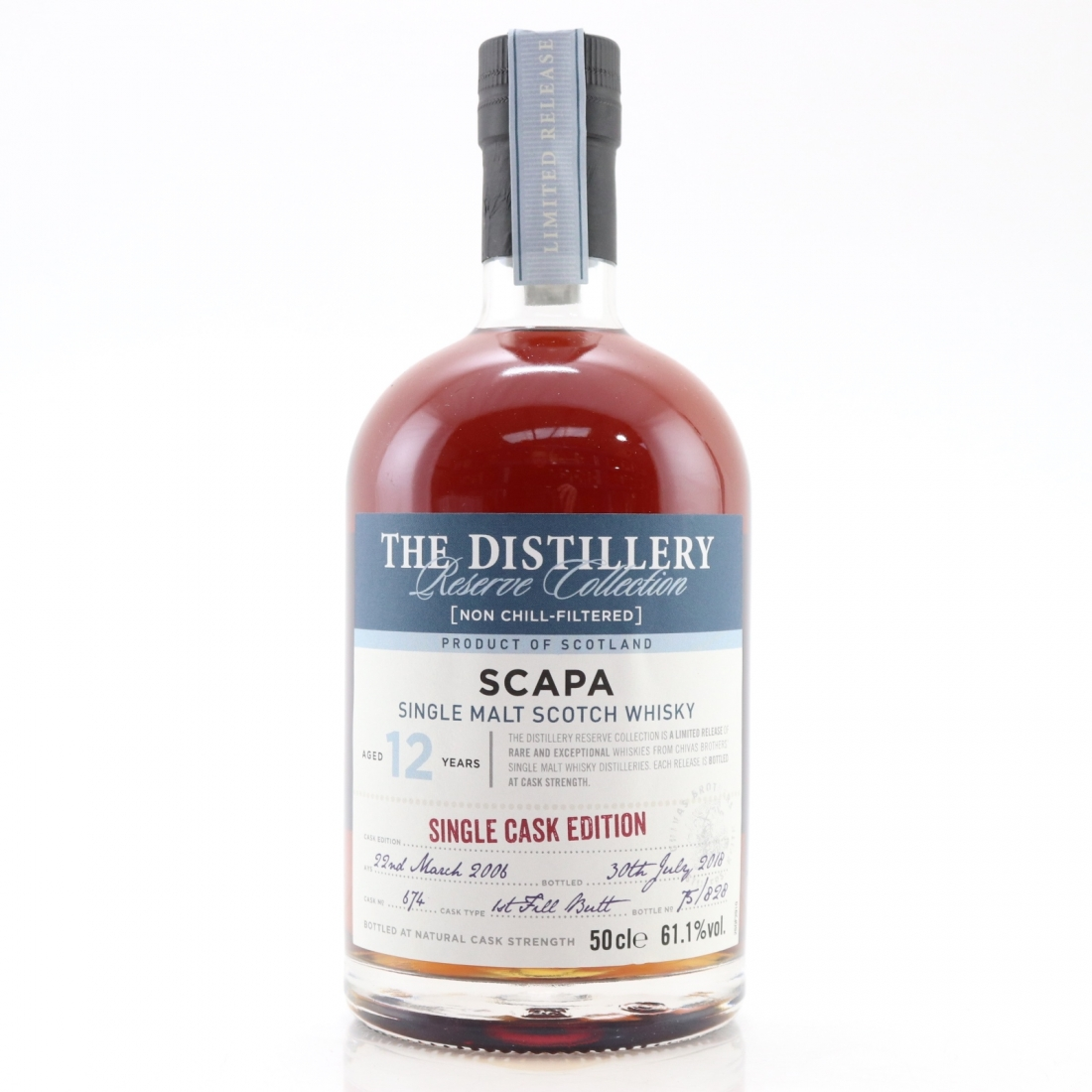 Scapa 2006 Reserve Collection 12 Year Old / Single Cask Edition