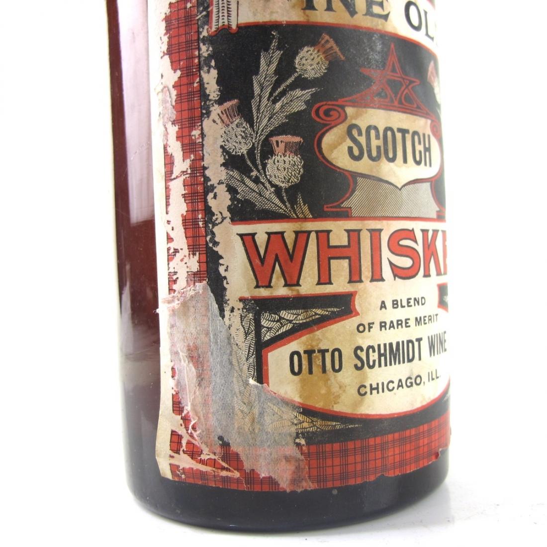 Otto Schmidt Wine Co Fine Old Scotch Whisky 1910s