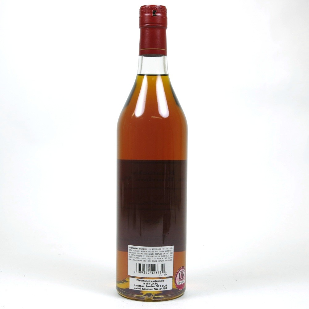 Pappy Van Winkle 12 Year Old Special Reserve Back