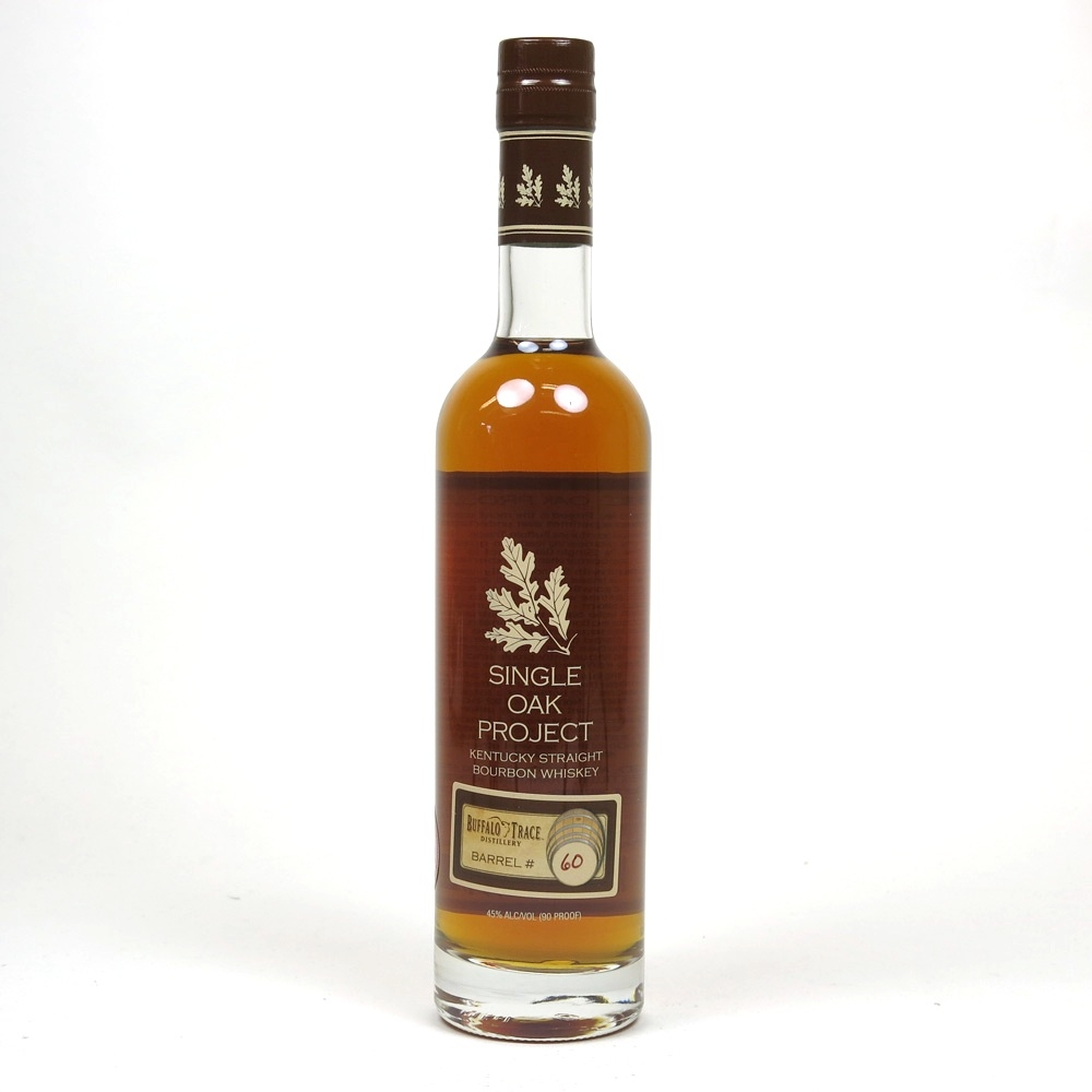 Buffalo Trace Barrel #60 Single Oak Project Front