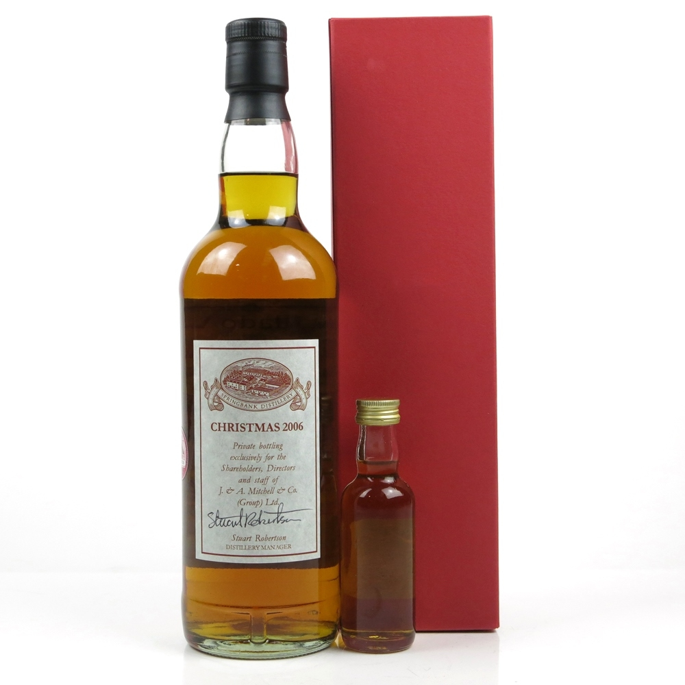 Springbank Staff Exclusive Christmas 2006 With Sample