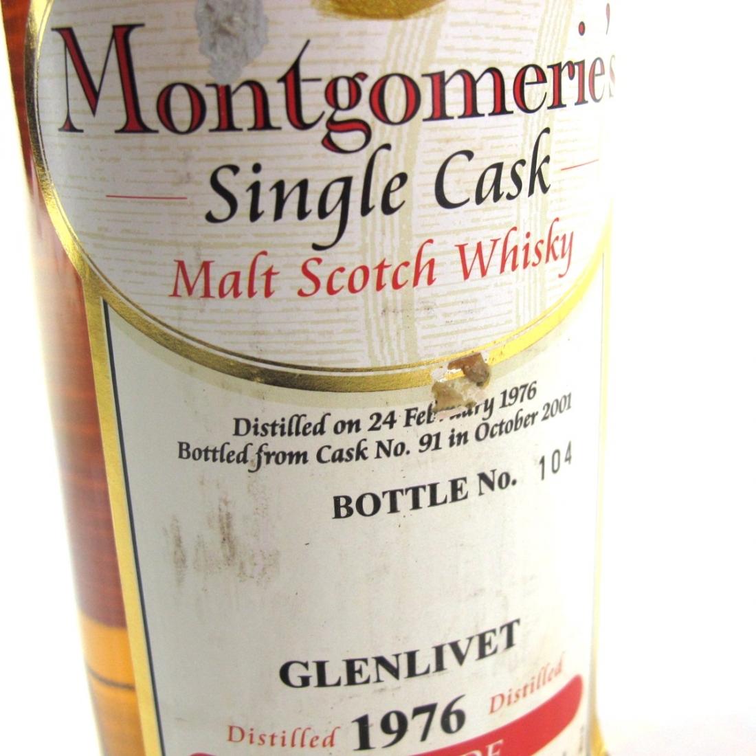 Glenlivet 1976 Montgomerie's Single Cask