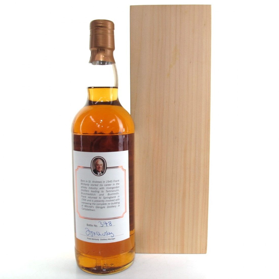 Springbank 25 Year Old Frank McHardy 40 Years in Distilling