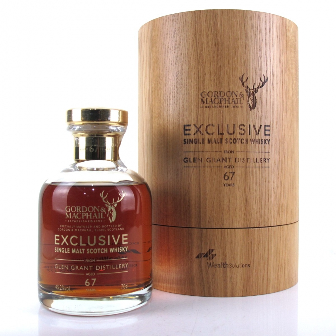 Glen Grant 1949 Gordon and MacPhail 67 Year Old / Wealth Solutions