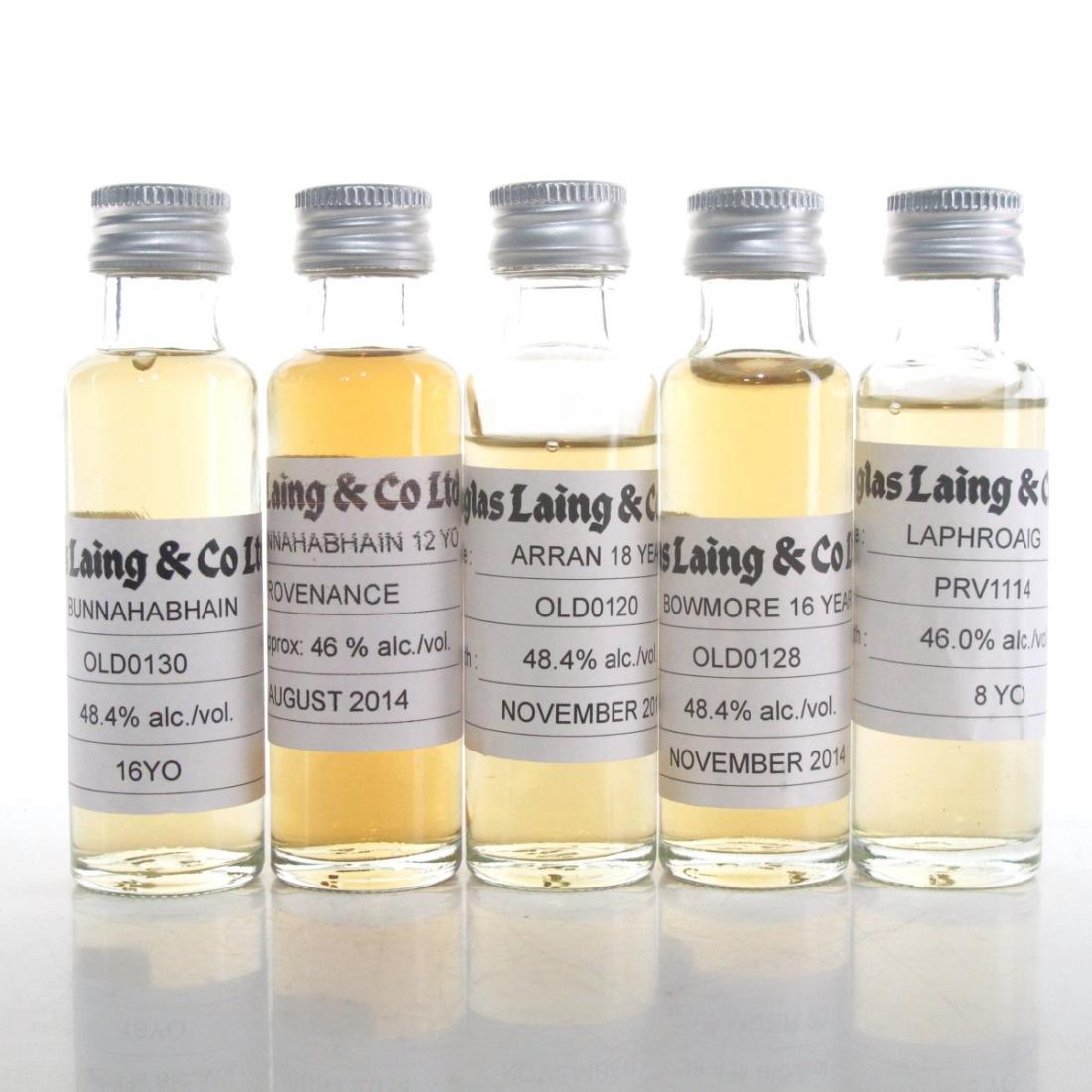 Douglas Laing Island Selection 5 x 2cl Samples