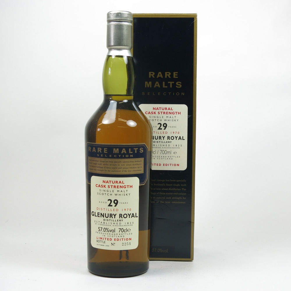 Glenury Royal 1970 Rare Malt 29 Year Old
