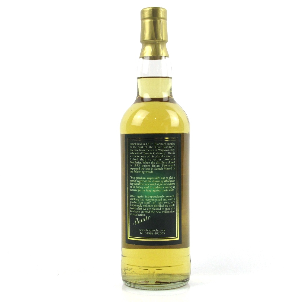 Bladnoch 15 Year Old Sheep Label