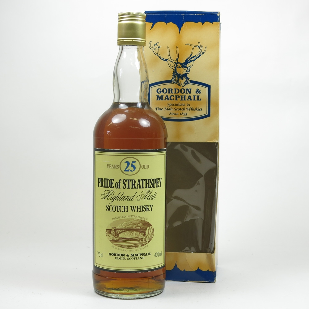 Pride of Strathspey 25 Year Old Gordon and Macphail