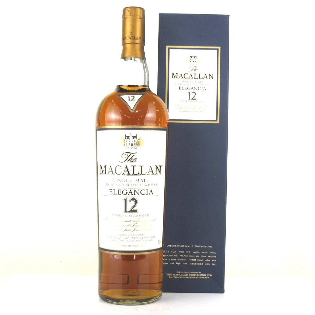 Macallan 12 Year Old Elegancia 1 Litre
