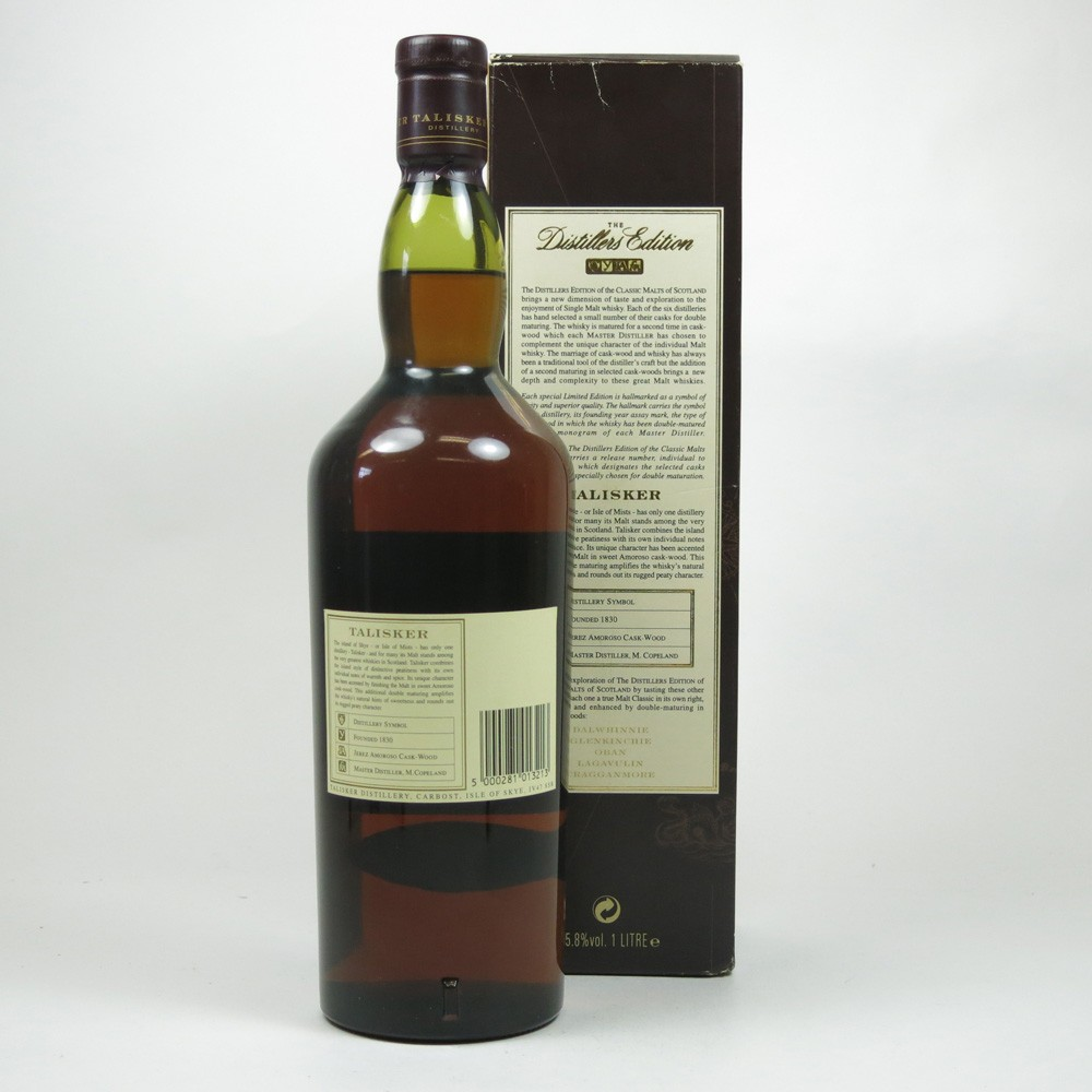 Talisker 1986 Distillers Edition First Edition