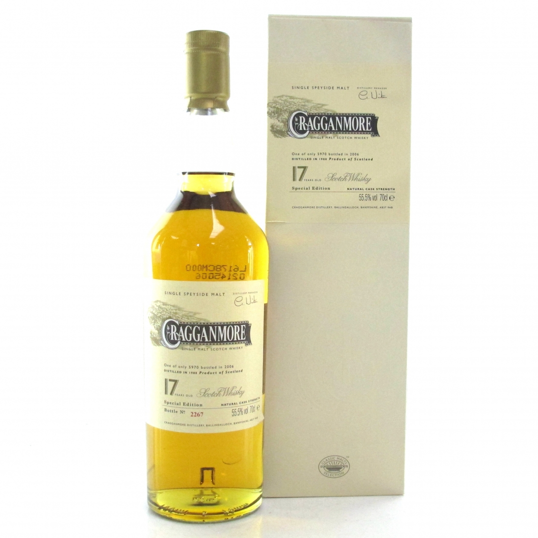 Cragganmore 1988 Cask Strength 17 Year Old