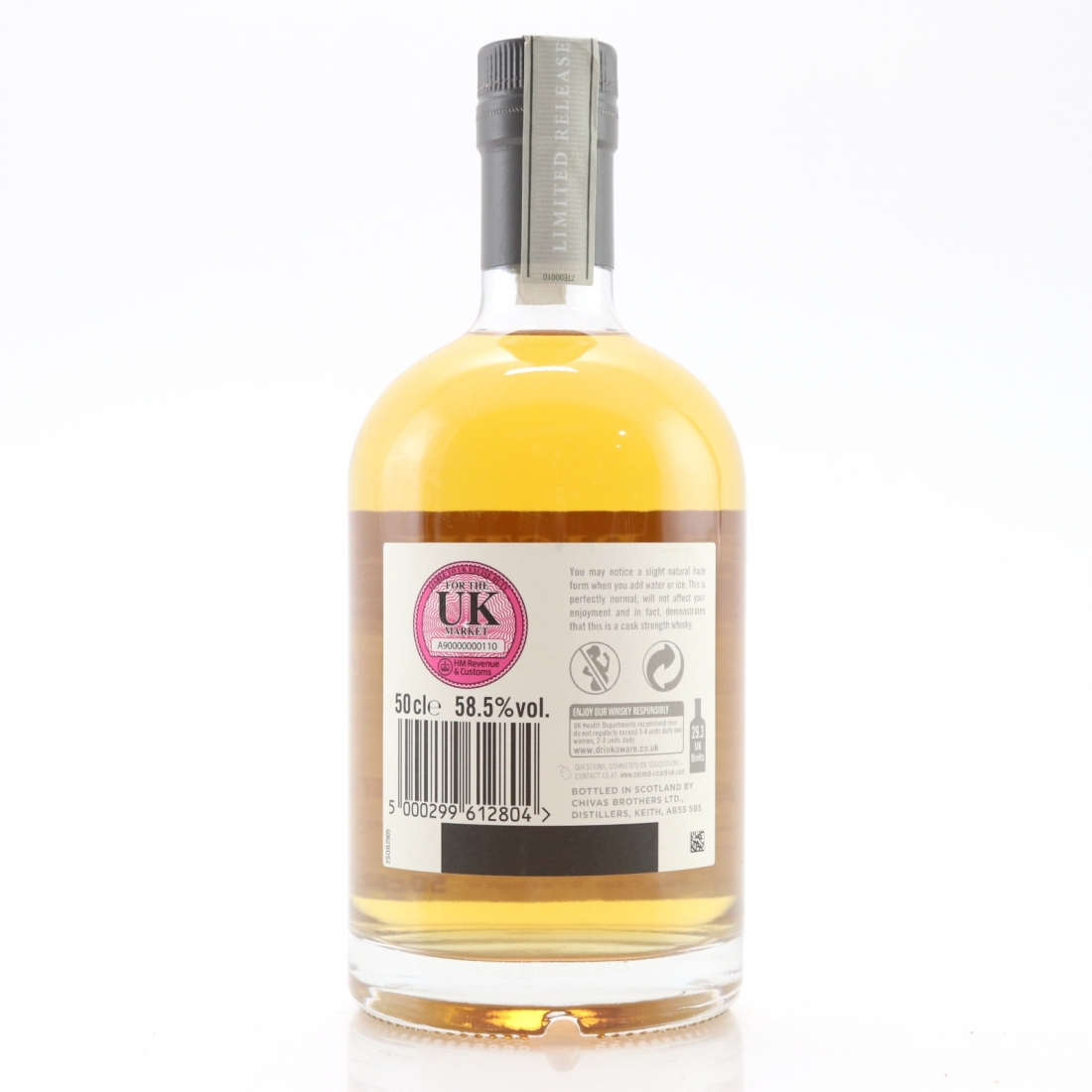 Scapa 2003 Reserve Collection 12 Year Old 50cl / Cask Strength Edition