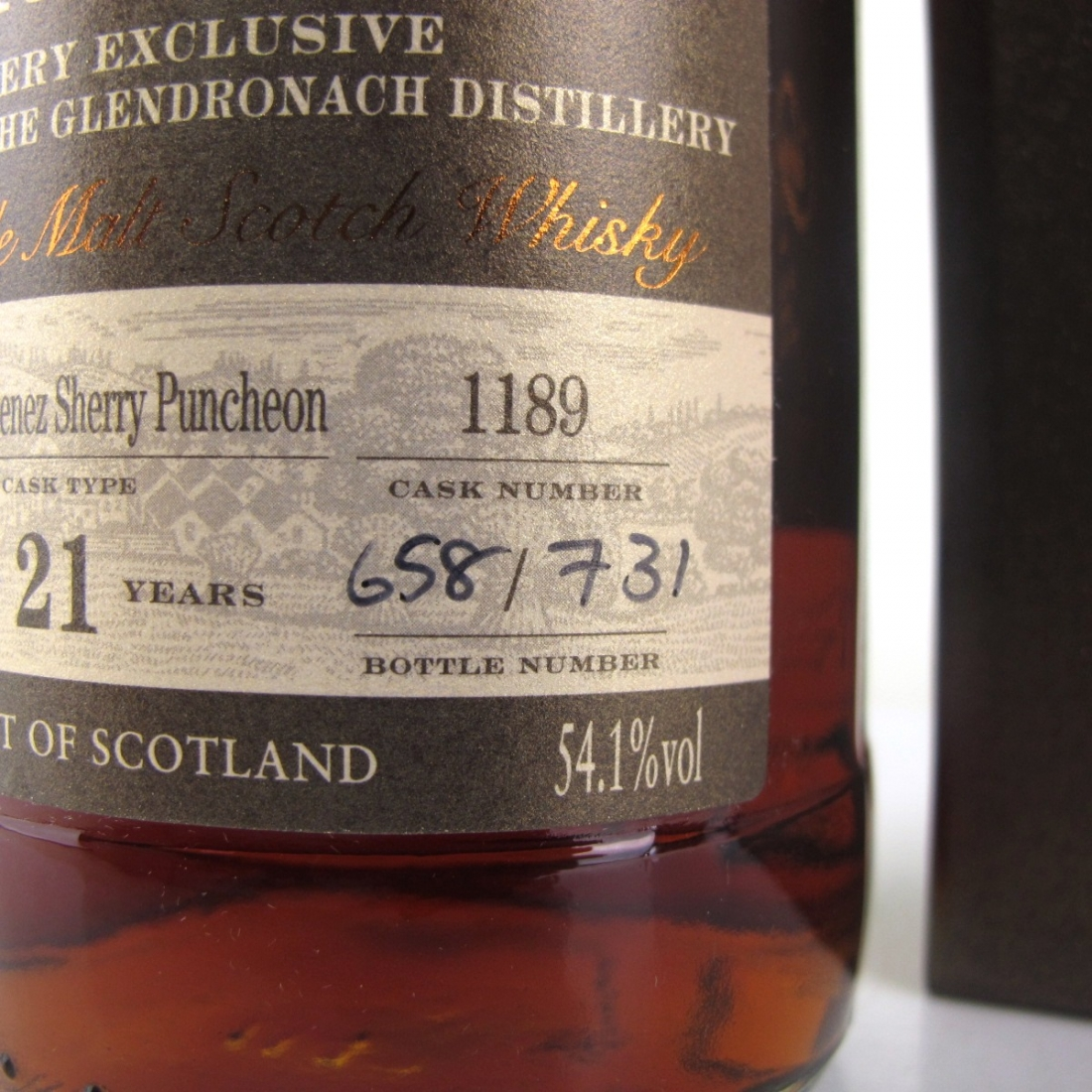 Glendronach 1994 Single Cask 21 Year Old #1189 / Distillery Exclusive